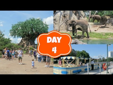 Disney World vlogs 2016 - Day 4 : Disney's Animal Kingdom