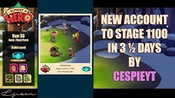 Almost a Hero - New account reaching 1100 in 3 ½ days | Cespieyt's Ultimate Speedrun