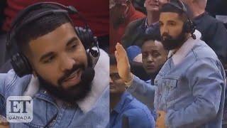 Drake Dances, Disses Bieber During Raptor Commentary