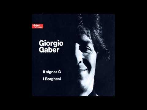 Giorgio Gaber - Com'è bella la città (11 - CD1)