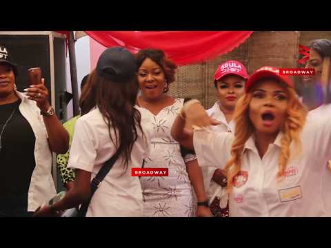 Mercy Aigbe & Iyabo Ojo's Daughters Vs Fathia Balogun On Dance Floor