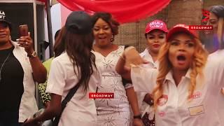 mercy aigbe iyabo ojo s daughters vs fathia balogun on dance floor