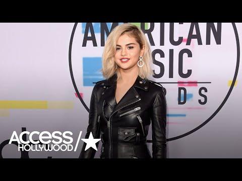 Selena Gomez Debuts Blonde Hair At The 2017 American Music Awards!