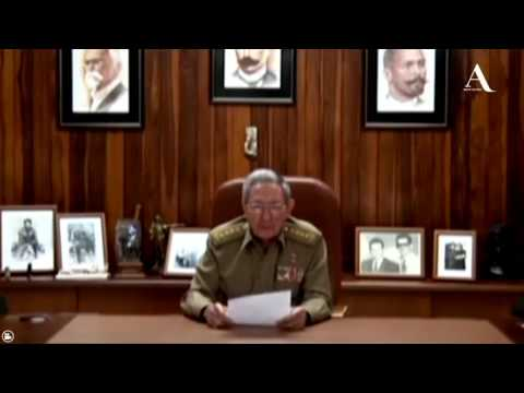 Raúl Castro confirma la muerte de su hermano, Fidel