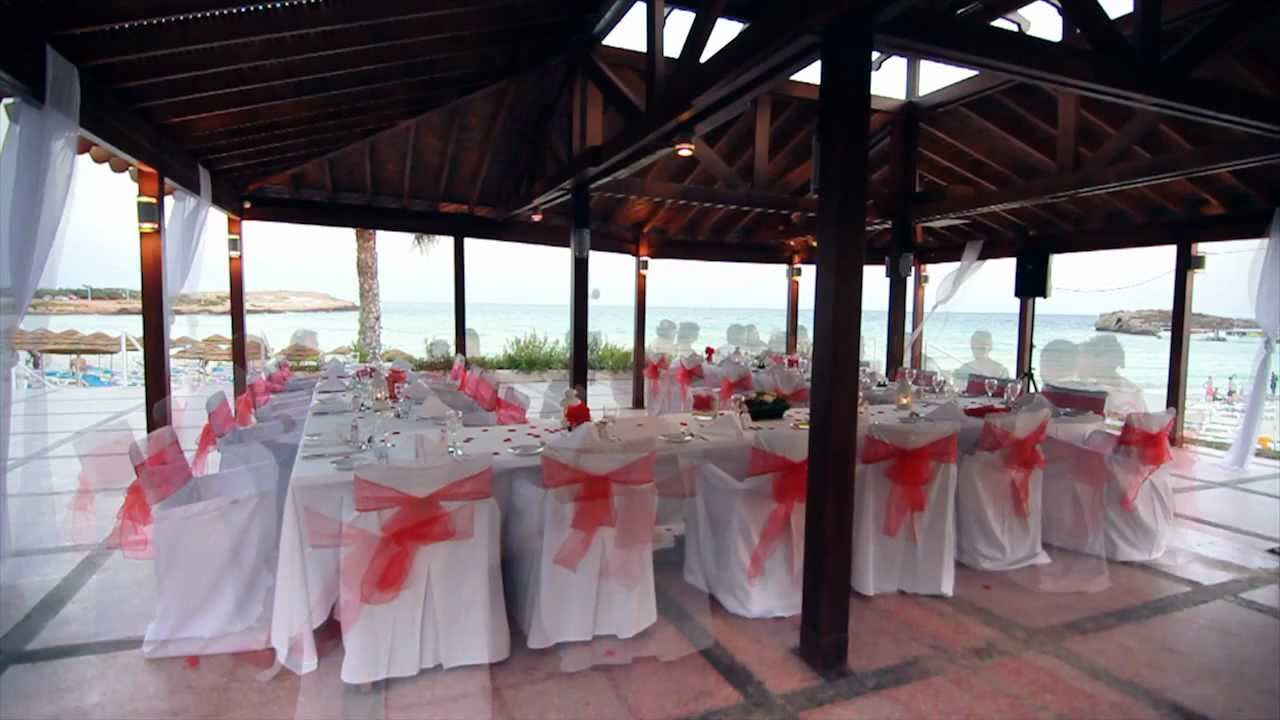 The PELICAN TAVERNA Wedding Reception Venue At NIssi Beach Resort Cyprus