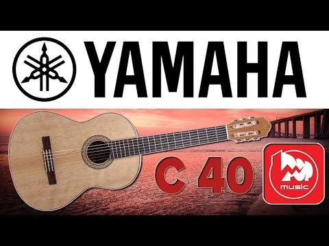 YAMAHA C40M - классическая гитара C-40 C матовым покрытием