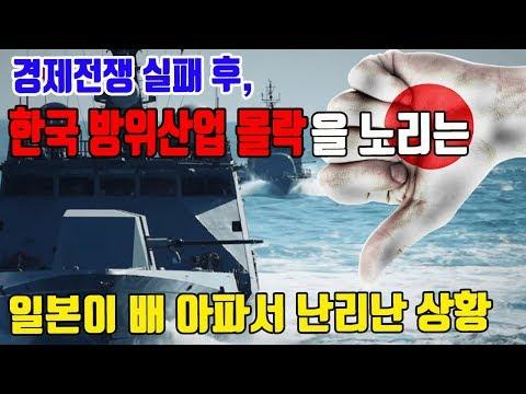 경제전쟁 실패후 한국 방위산업 몰락을 노리는 일본이  배 아파서 난리난 상황