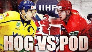 The Nils Höglander VS Vasili Podkolzin Showdown Team Sweden VS Team Russia Canucks Prospects 2020