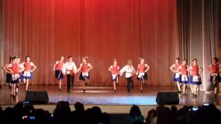 Детские танцевальные коллективы - Белорусский танец(Концерт детских танцевальных коллективов 25 января 2015 года в КДЦ