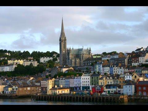Cobh, Cork, Ireland - Aerial View