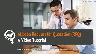Alibaba Request for Quotation (RFQ): Video Tutorial