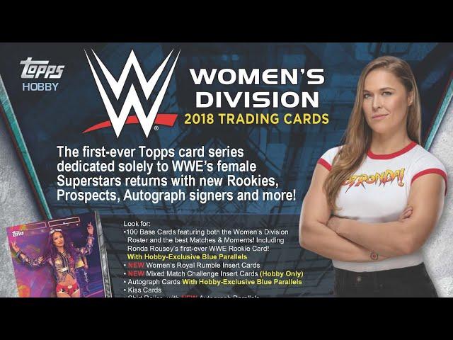10/11/18 - eBay - 8 PM CDT - 2018 Topps WWE Women's Division Full Case Break