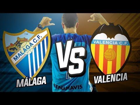 Málaga CF vs Valencia CF (1-2)   Jornada 24 Liga Santander 2017/18   Post-Partido