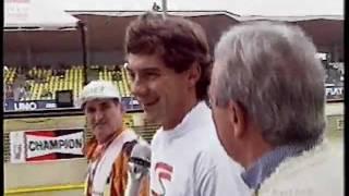 GP di San Marino 1993 - Interviste ai piloti dopo il warm-up