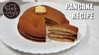 How to Make Pancakes at Home - Pancake Recipe Easy - Breakfast Dessert Recipe - Hinz Cooking
