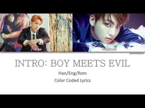 BTS (방탄소년단) - INTRO: BOY MEETS EVIL [Color Coded Han Rom Eng]