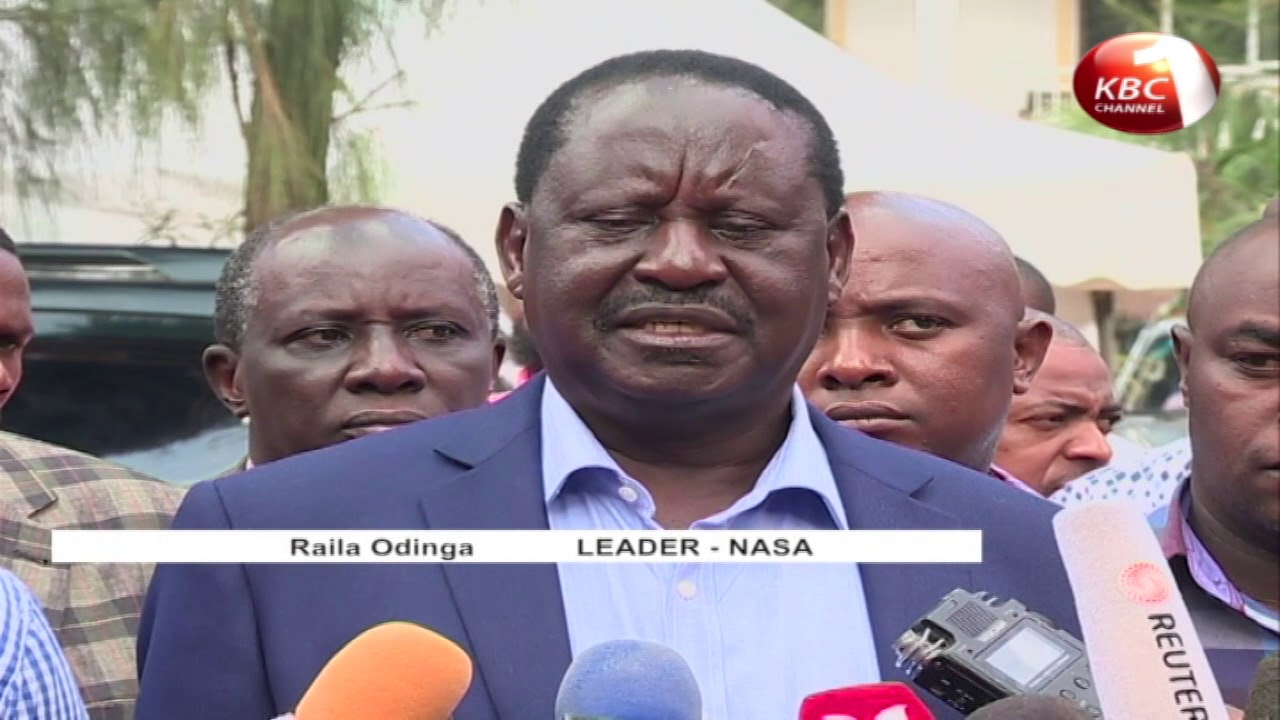 Raila Odinga swearing in shrouded in mystery with organizers remaining tight lipped