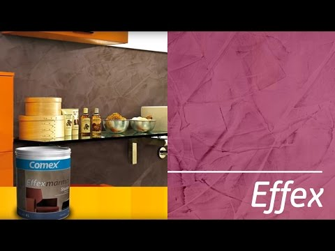 Comex Effexmármol Stucco - YouTube