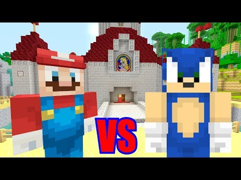 Minecraft Switch - Super Mario Series - MARIO VS SONIC [STUPID SHOWDOWN!] [201]