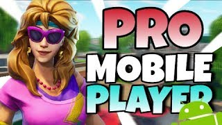PRO FORTNITE MOBILE PLAYER on IPAD // 120+ Wins! // Fortnite Android Invites Open Now!