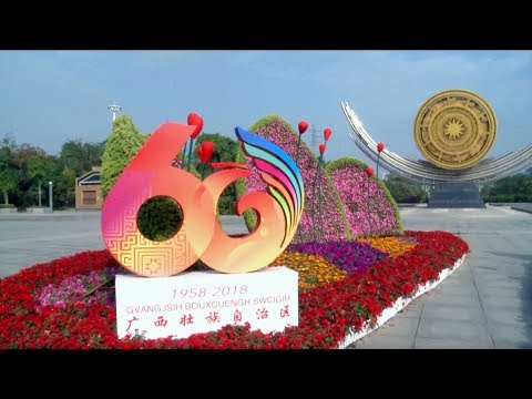 Nanning decorated to mark 60th birthday of autonomous region