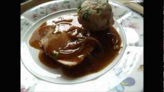 Рецепт немецкой кухни. Гарнир. Как приготовить Semmelknödel