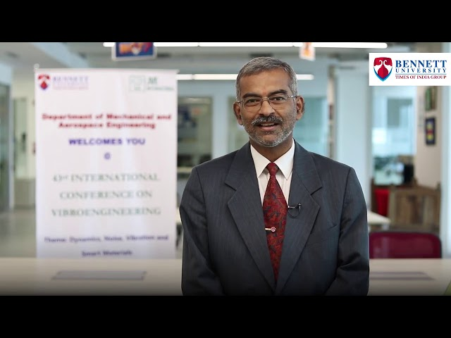 Dr. Himanshu Shekhar (HEMRL, India) shares highlights of his visit to Bennett University.