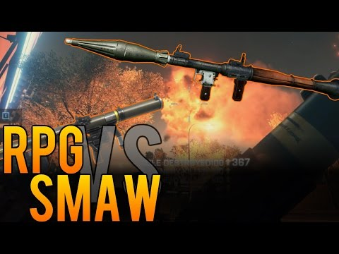 RPG vs. SMAW - Which is the Best Rocket Launcher? - Battlefield 4 (BF4)