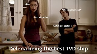 Delena being the best tvd ship for 4 minutes and 24 seconds