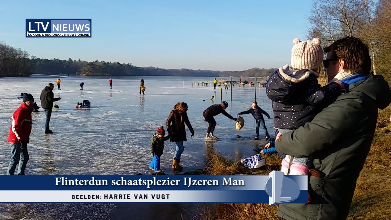 De Ijzeren Man.Flinterdun Schaatsplezier Op De Ijzeren Man In Vught Youtube