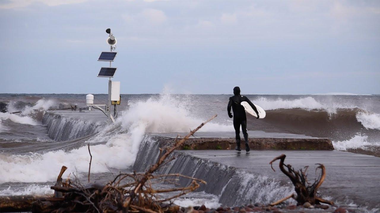 Finding Surf on Michigan's Upper Peninsula