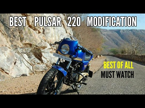 Best Bajaj Pulsar 220 Modification !! Top 10 Bajaj Pulsar 220 Modified !!