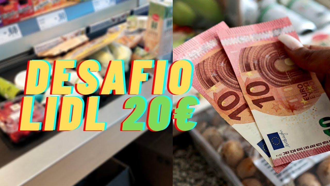 Desafio Lidl  - Compras da semana até 20€ no @Lidl Portugal    Compras de supermercado da Joana
