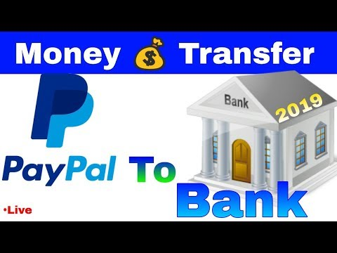 How to send money to the bank from paypal