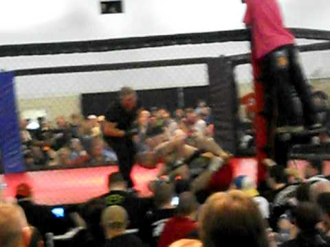 BAD DOG MMA BRANDON HURST FIGHT 2-4-12