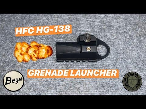 [REVIEW] HFC HG-138 Mini Airsoft Grenade Launcher Test Deutsch/german