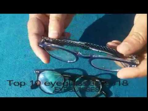 TOP 10 EYEGLASSES FRAME REVIEW 2018 - YouTube