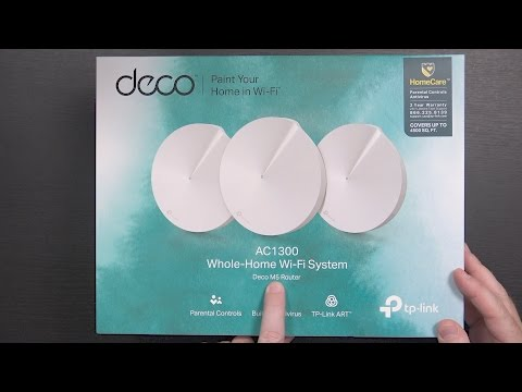 TP-Link Deco M5 Whole Home Wifi System