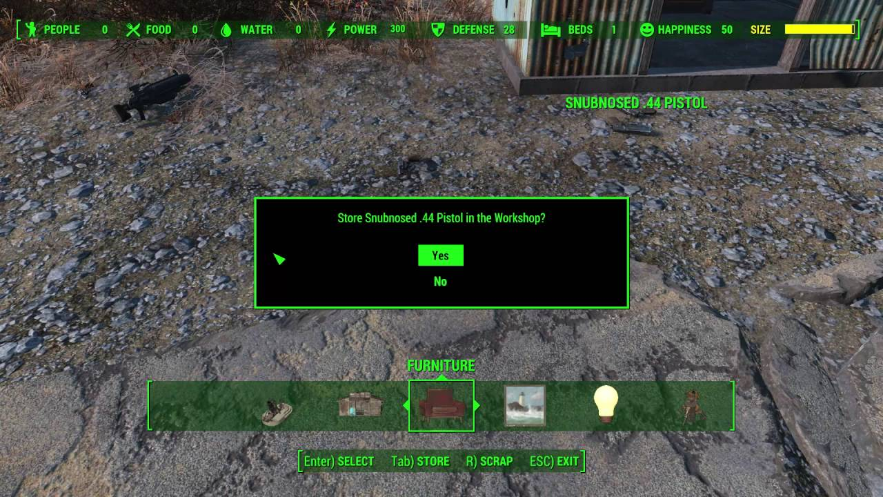 Fallout 4: how to increase the size of your settlements glitch ...
