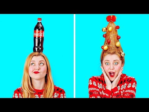 COOL CHRISTMAS DECOR IDEAS AND CRAFTS || DIY Holiday Tips And Life Hacks by 123 GO!