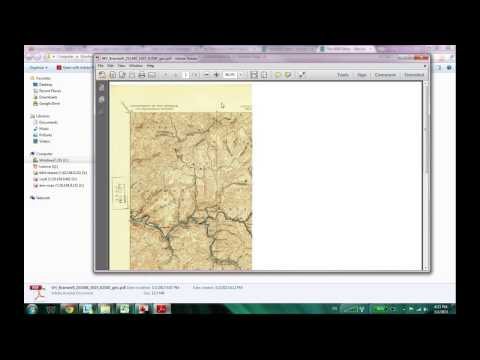 Where and How  to Download USGS TOPO maps