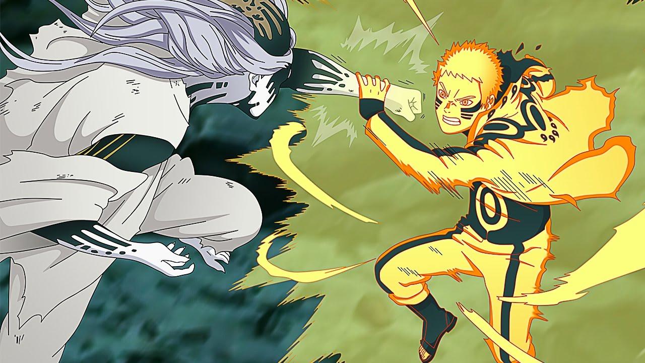 Hokage Naruto Sasuke Boruto Vs Momoshiki Full Fight English Dub