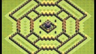 Th9 farming base + replays | Th9 dark elixir farming base | Diseño de aldea | Clash of clans