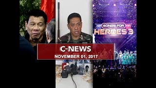 UNTV: C-News (November 1, 2017)