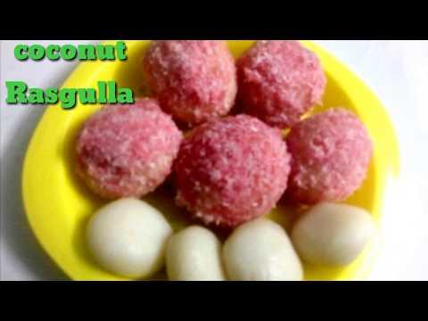 Coconut Rasgulla/Rasgulla recipe