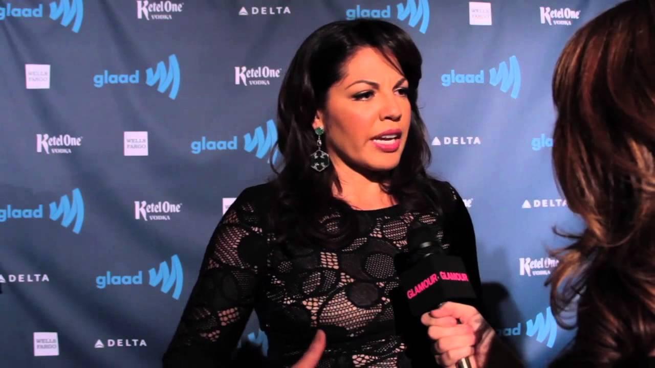 Sara Ramirez From Greys Anatomy At The Glaad Awards Youtube