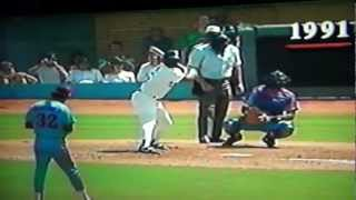 Dennis Martinez Montreal Expos Perfect Game Last Out Dodger Stadium