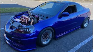 RSX FUSE BOX TUCKED   DC5 CREATIONS INC   Acura Rsx Fuse Box Relocation      DC5 CREATIONS INC