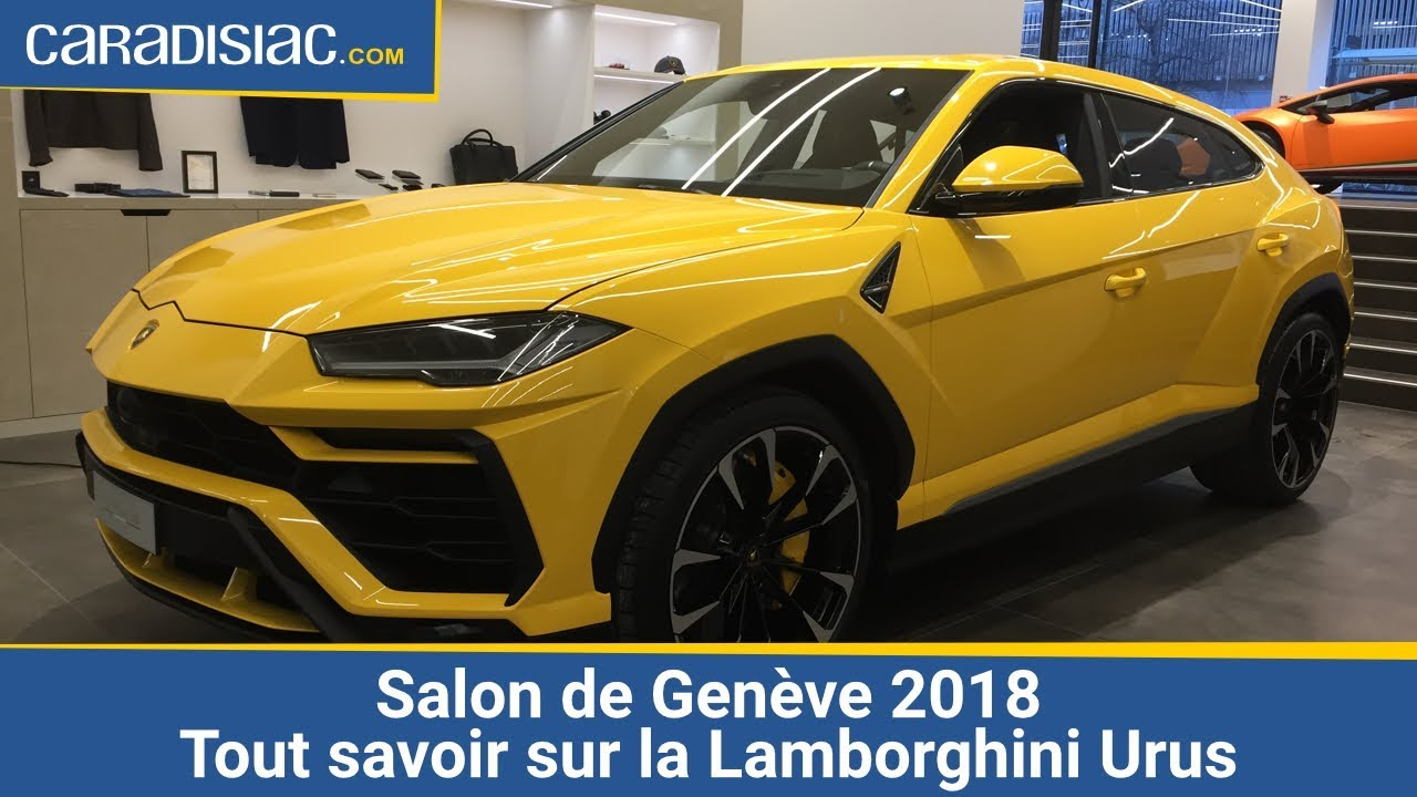 salon de gen ve 2018 tout savoir sur la lamborghini urus youtube. Black Bedroom Furniture Sets. Home Design Ideas