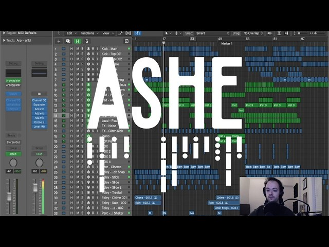 ASHE - Human (waf009 Production Tutorial)
